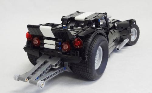 Lego Technic Drag Car V8