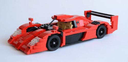 Lego Toyota GT-ONE
