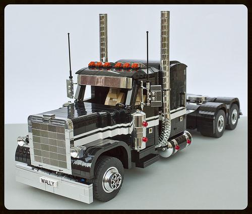 Lego Peterbilt Truck RC