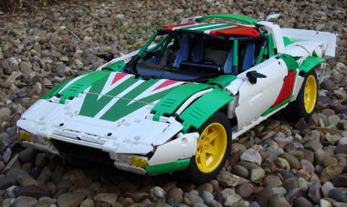 Lego Technic Lancia Stratos Rally Car