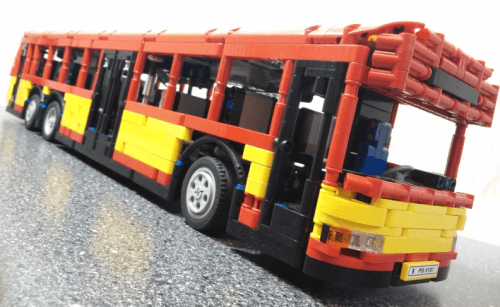 Lego Technic RC Bus