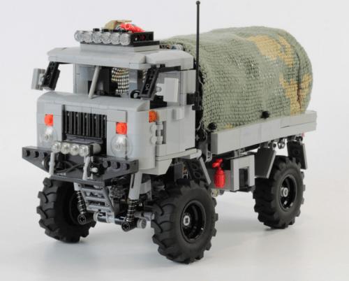 Lego GAZ 66 Truck Trial