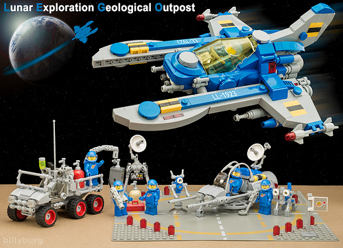 Lego Classic Space Set