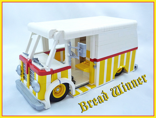 Lego International Harvester Metro Van