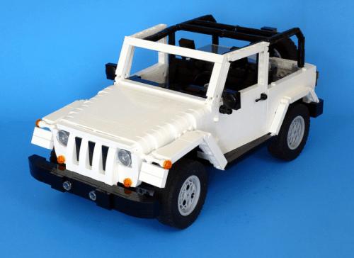 Lego Jeep Wrangler RC