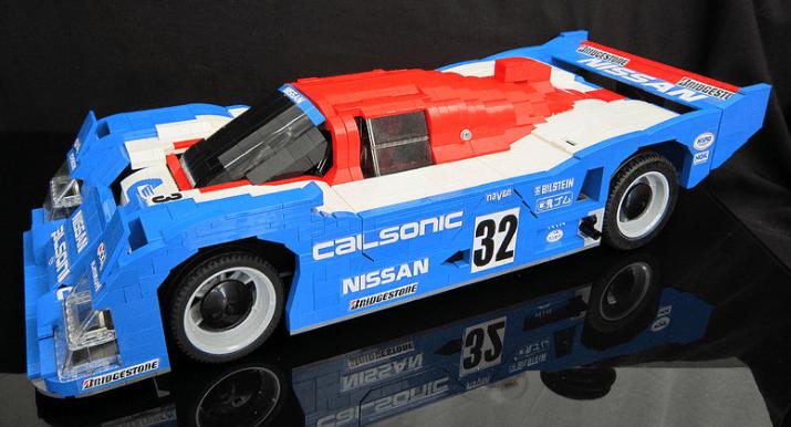 Lego Nissan R92CP Racing Car