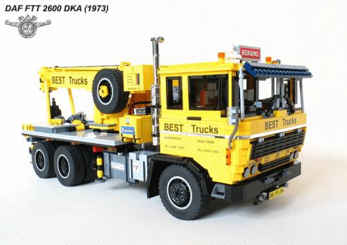 Lego DAF FTT 2600 Truck RC