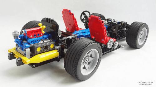 Lego Technic 8860 Redux