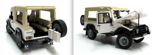 Lego UMM Alter II 4x4 Biczzz
