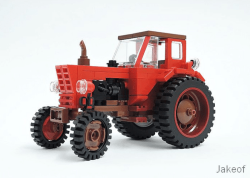 Lego MTZ-52 Belarus Tractor