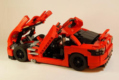 McLaren Mercedes SLR 722 Lego