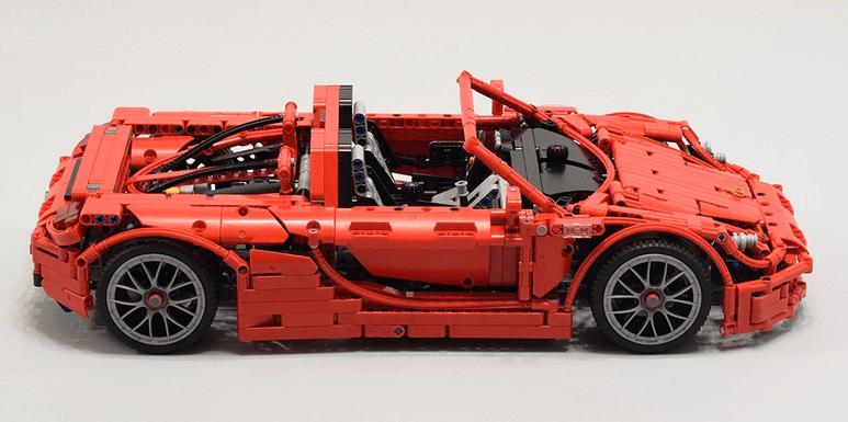 Lego Technic Porsche Carrera GT