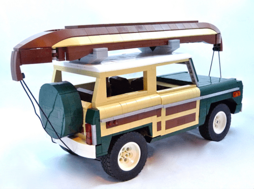 Lego Model Team Ford Bronco