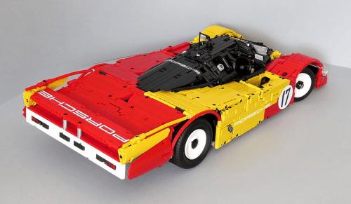 Lego Porsche Le Mans 962C