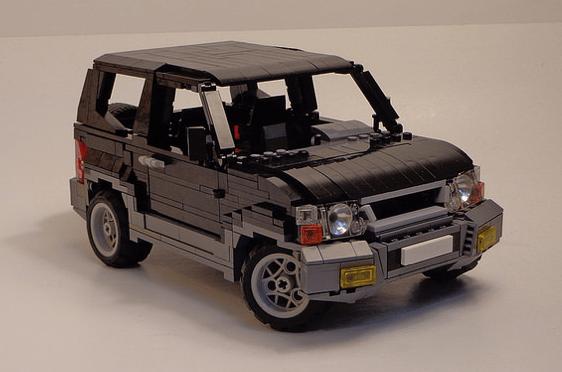 Lego Mitsubishi Pajero