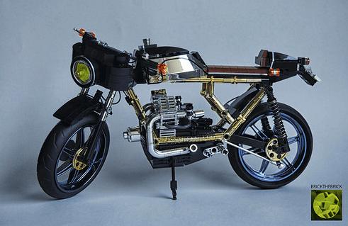 Lego Moto Guzzi Motorcycle
