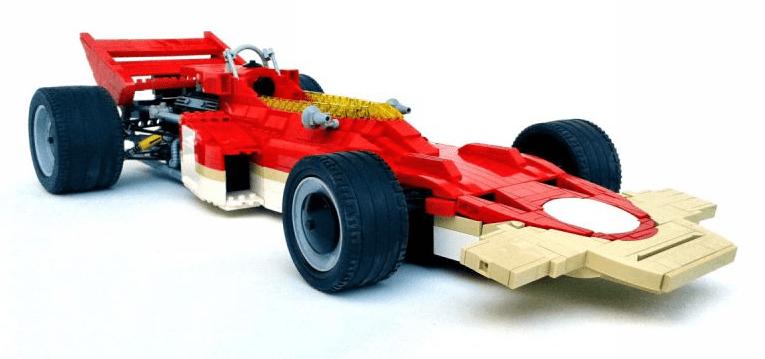 Lego Lotus Ford 72C Gold Leaf