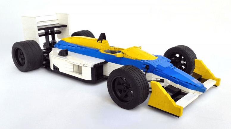 Lego Williams-Honda FW11