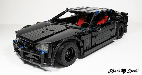 Lego Technic RC Supercar
