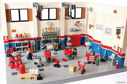 Lego Scooter Workshop