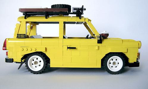 Lego Trabant 601