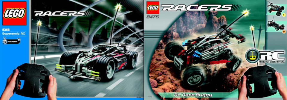 Lego Racers 8366 8475 Review