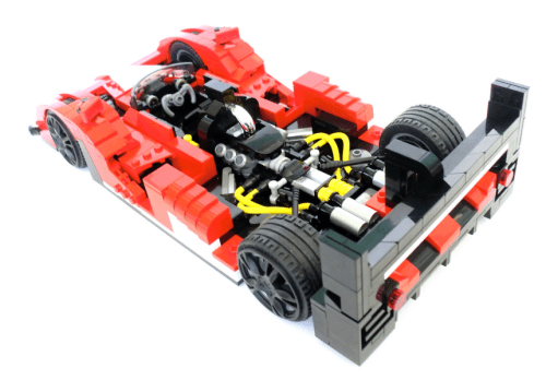 Lego Model Team Ferrari Racer