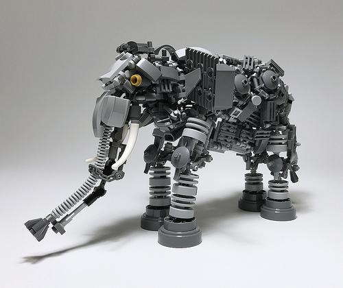 Lego Elephant Mech