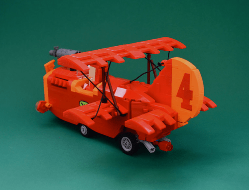 Lego Back Races Red Max