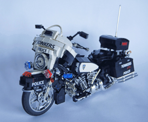 Lego Harley Davidson Electra Glide Police Bike