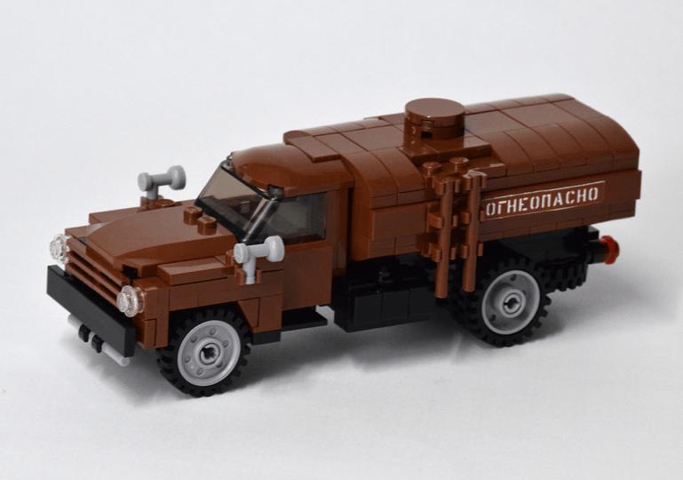 Lego ZIL 130 Tanker Truck