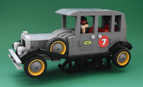 Lego Ant Hill Mob Wacky Races Bullet Proof Bomb