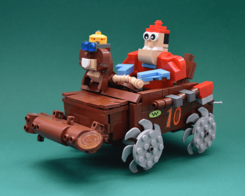 Lego Wacky Races Buzz Wagon