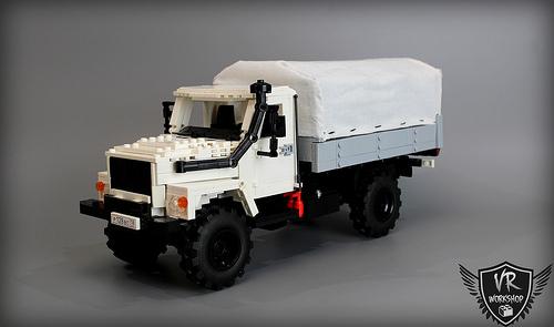 """Lego GAZ-3308 """"Sadko"""""""