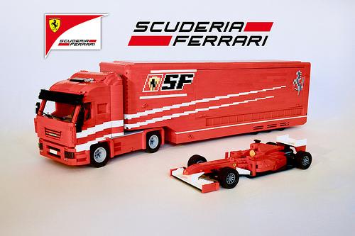 Lego Scuderia Ferrari Truck