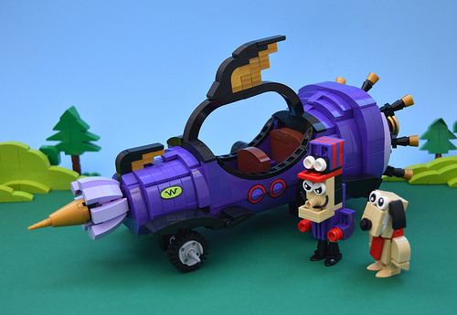 Lego Wacky Races Mean Machine