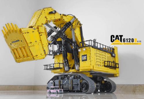 Lego Technic Caterpillar 6120B Mining Shovel RC