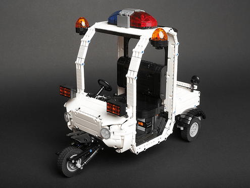 Lego Zootopia Police Cart