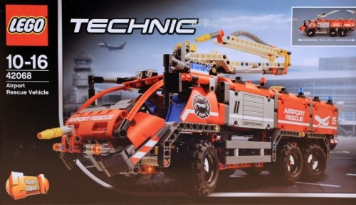 Lego Technic 42068 Airport Fire Truck