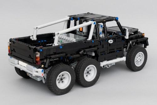 Lego Technic Mercedes-Benz 6x6 RC