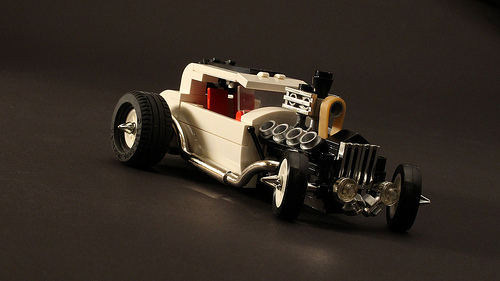 Lego Ford Hot Rod