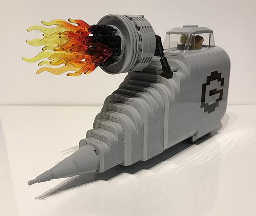 Lego Minions Rocket Car