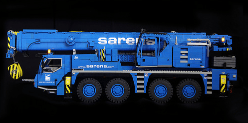 Lego Liebherr LTM Crane Remote Control