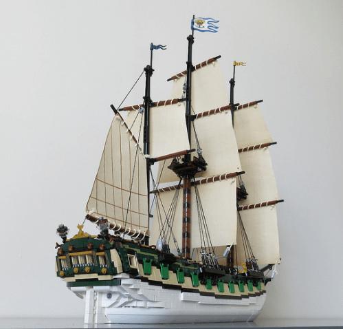 Lego Galleon
