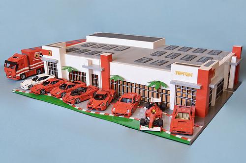Lego Ferrari Models