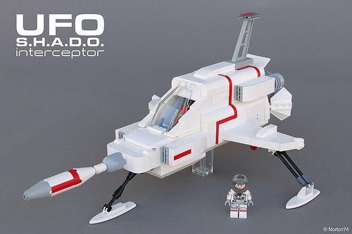 Lego UFO S.H.A.D.O Interceptor