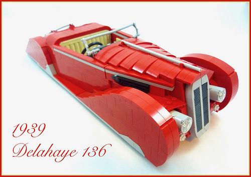 Lego 1939 Delahaye 136