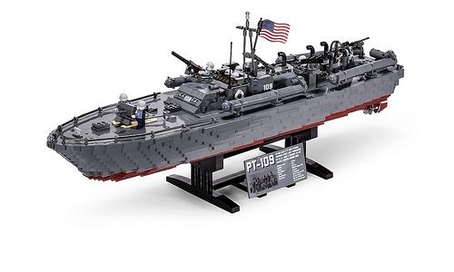 Lego PT-109 - 80' Elco Motor Torpedo Boat
