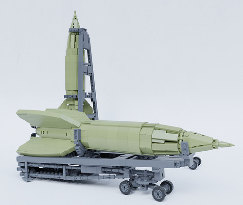 Lego V-2 Rocket