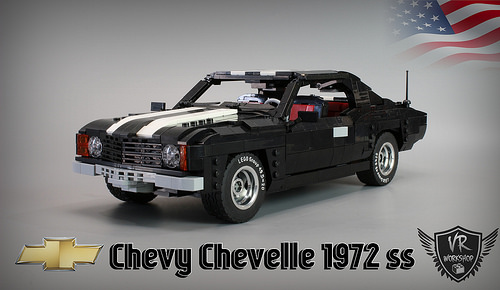 Lego Chevy Chevelle 1972 SS